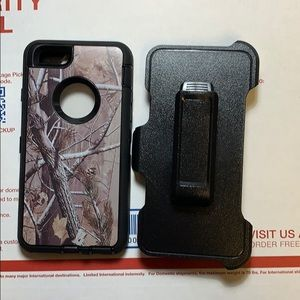 IPhone 6/6s defender style case with clip new